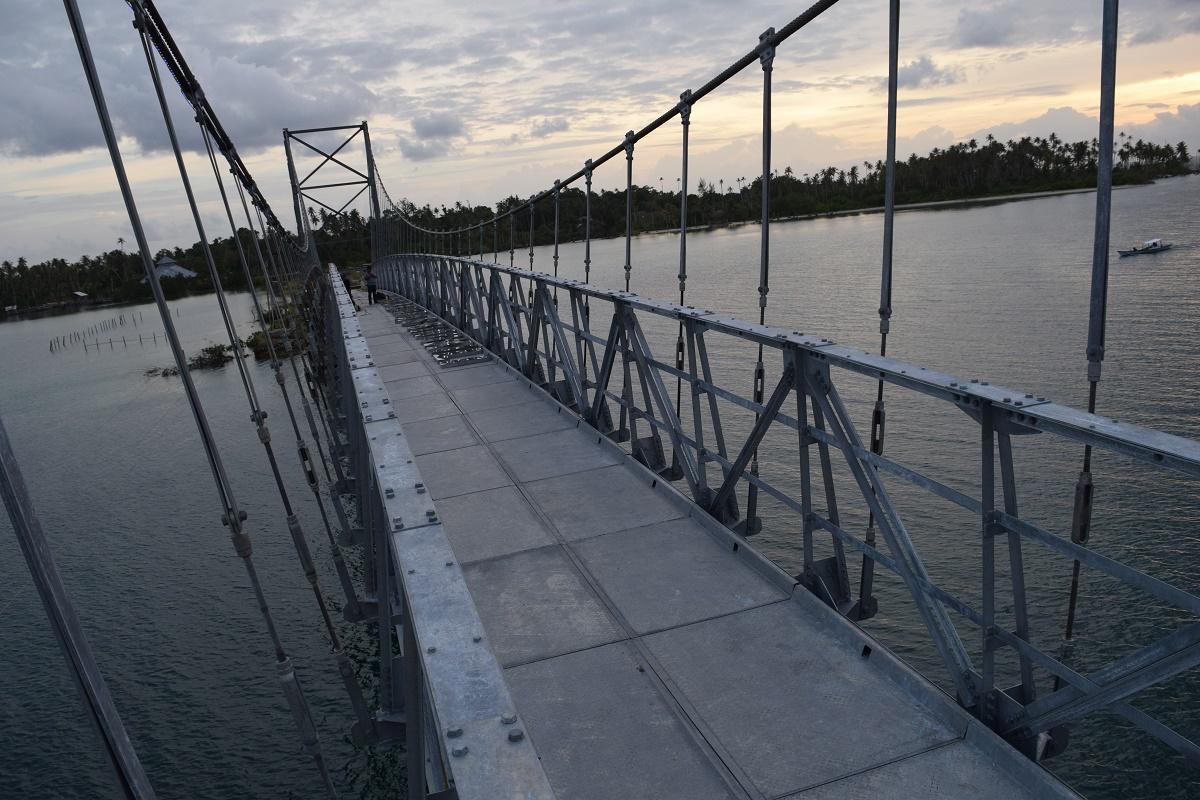 Pulau Banyak Jadikan Jembatan Balaibung Tempat Wisata dan Selfi